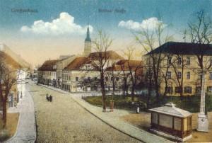 Postkarte Berliner Straße Großenhain
